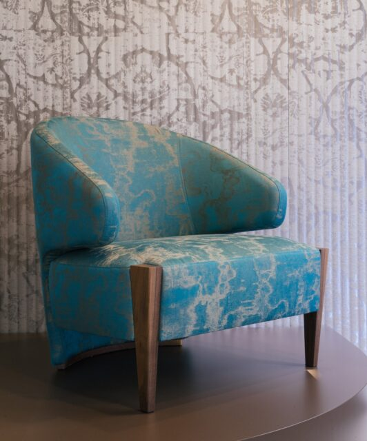 Armchair design by Rubelli Casa